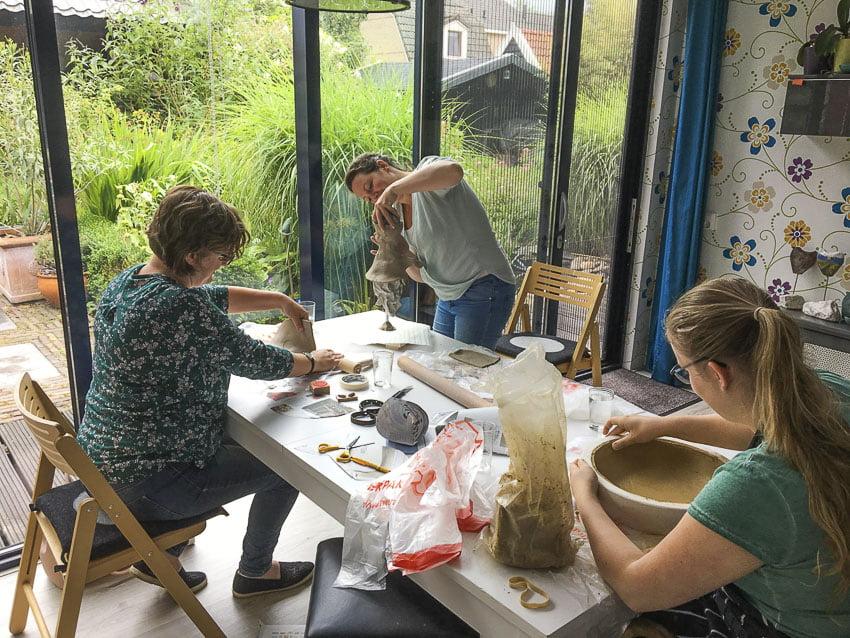 boetseerlessen_workshop_creatieve_keramiek_klei_atelier_noord_holland