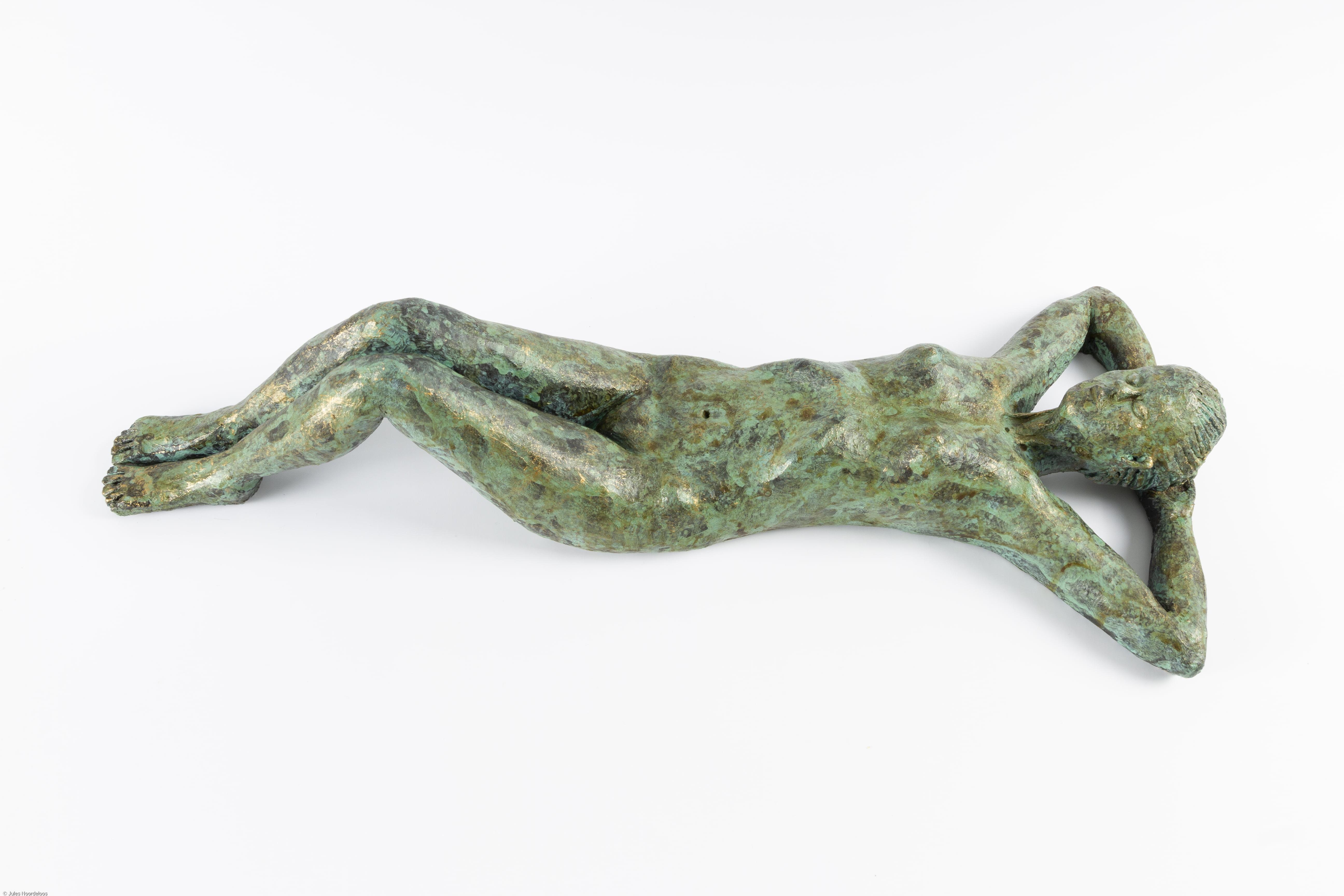 vrouwelijk_liggend_naakt_keramiek_keramisch_beeld_bronstinten_uniek_bijzonder